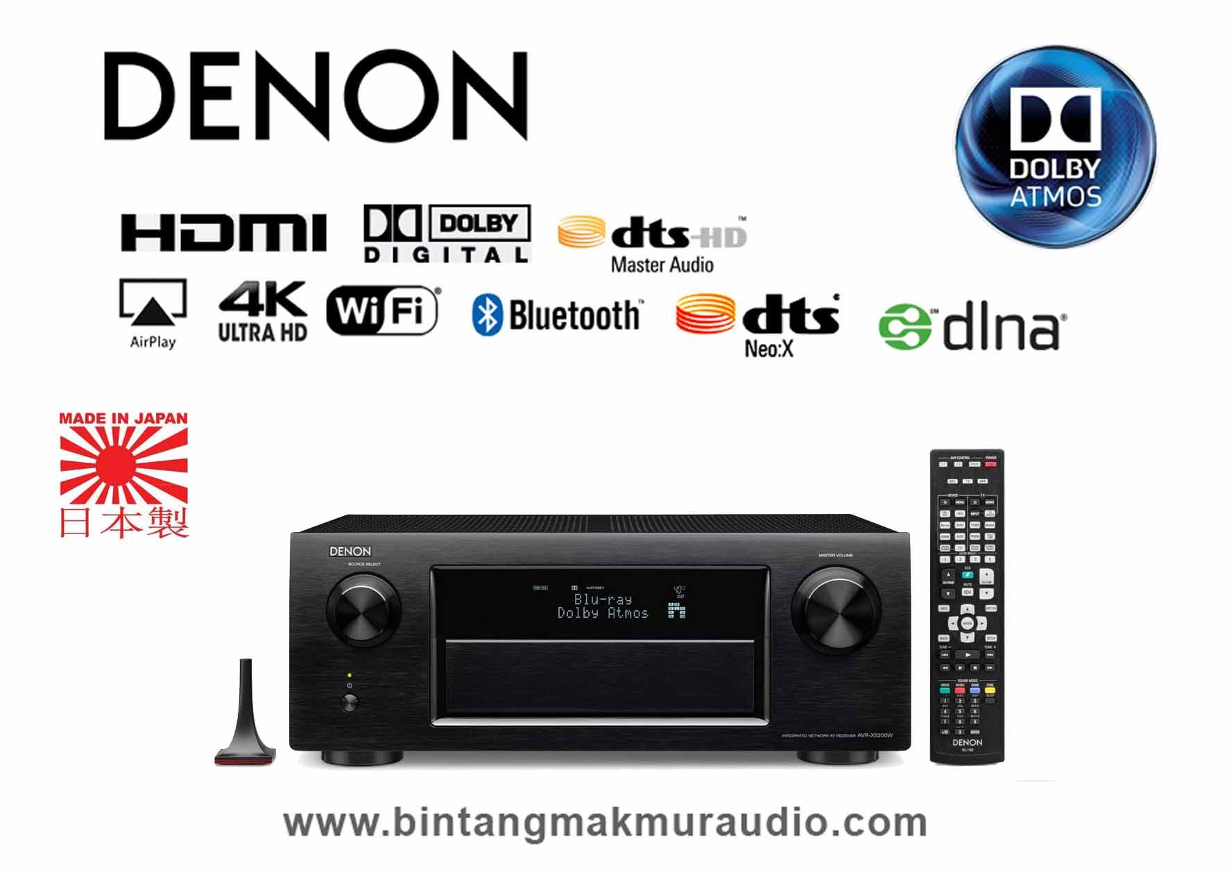 Receiver Denon Avr X3300w X5200w
