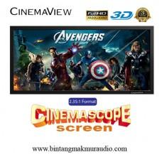 "Cinemaview CinemaScope 2.35 : 1 115"" inch"