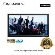 """Cinemaview Wide Screen 16:9 106"""" inch"""