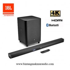 "JBL Cinema Bar 3.1 - Channel 4K Ultra HD Soundbar with 10"" Wireless Subwoofer"