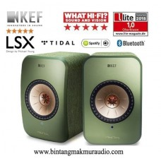 KEF LSX Wireless  GREEN