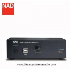 NAD PP4 Phono Stage Digital Phono/USB Preamp