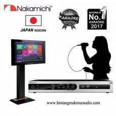Nakamichi NKX-45 Karaoke Player + Monitor Touch Screen 19 Inch
