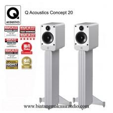 Q Acoustics Concept 20 + Stand Speaker
