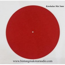 Turntable Mat Red