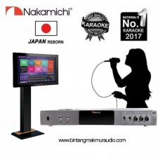 """Nakamichi NKX 55 Karaoke Player Android - Touch Screen 19"""" inchi"""