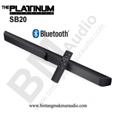 PLATINUM SB20 HiFi Bluetooth Soundbar