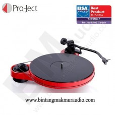 Project RPM 3 Carbon Red Turntable