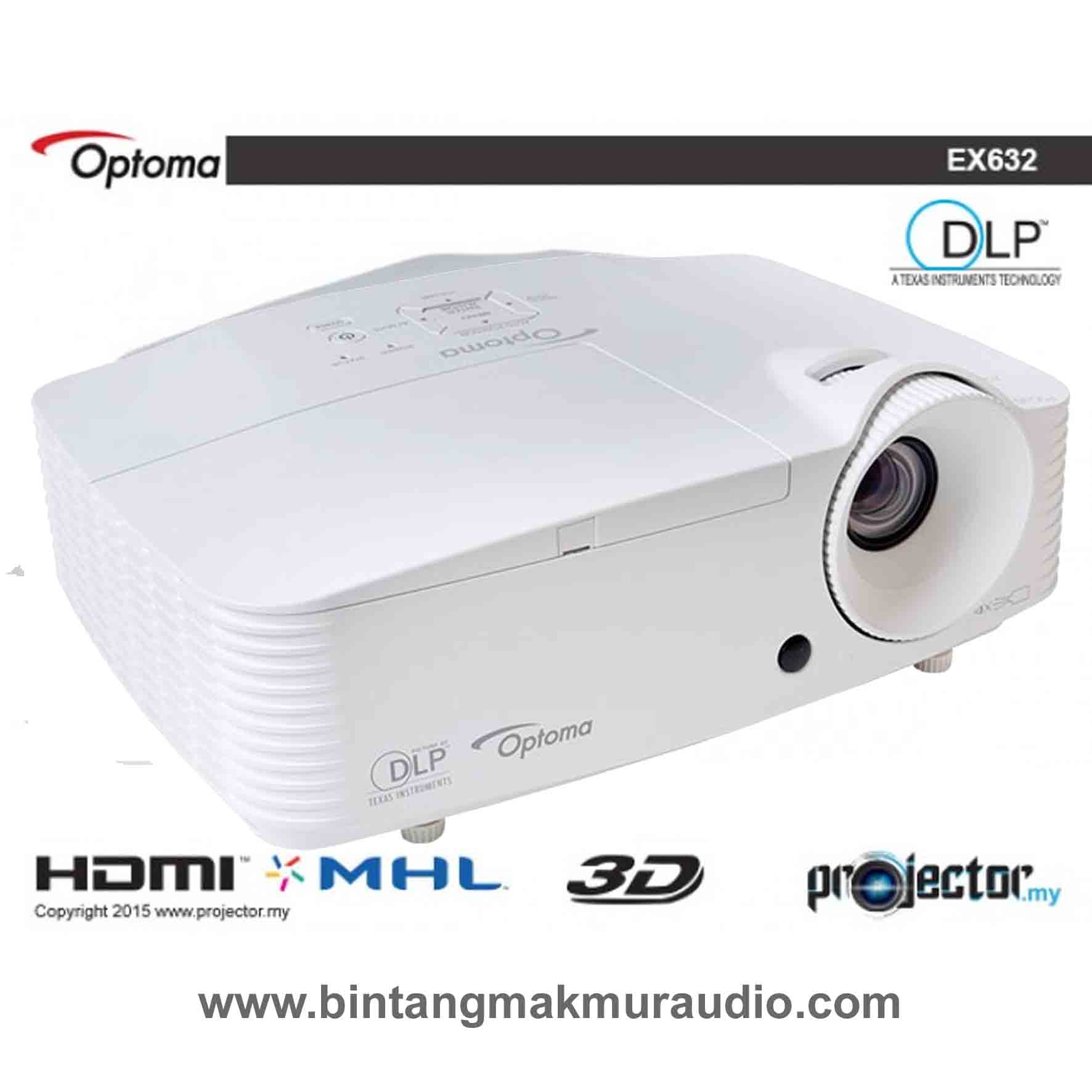 Projector Home Theater Epson Eh Tw570 Theatre Optoma Ex 632